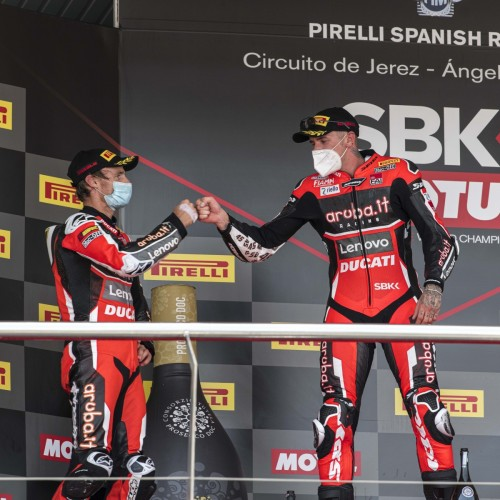 Scott Redding & Chaz Davies