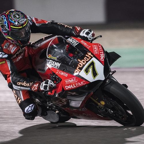 Chaz Davies (Aruba.it Racing - Ducati #7)