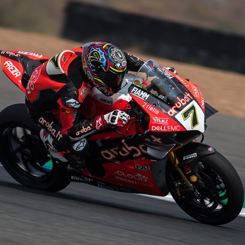 Chaz Davies (Aruba.it Racing - Ducati #7) - RACE 2