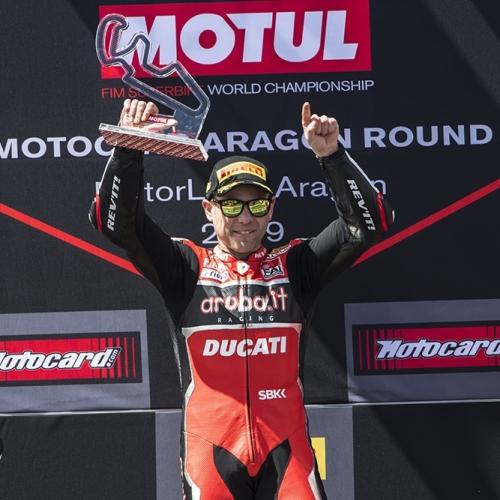 Gara2 Podio Aragon -  #19 P1 - #7 P3
