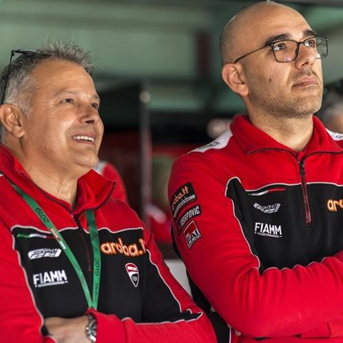 Serafini Foti - Stefano Cecconi  Aruba.it Racing - Ducati
