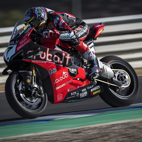 Chaz Davies (Aruba.it Racing - Ducati #7)
